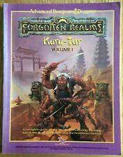 Advanced Dungeons & Dragons Forgotten Realms Kara-Tur Volume 1 (1988)