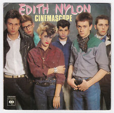 45 TOURS EDITH NYLON CINEMASCOPE CBS 9390 en 1980