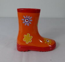 Spardose Stiefel Poly C orange