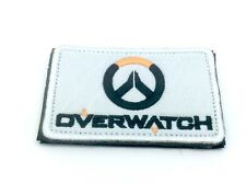 Over Watch White Embroidered Airsoft Paintball Patch