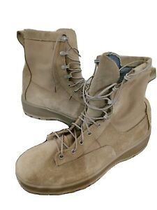Altama US Army Temperate Weather Gore-Tex Boots Combat Brown Tan Men's Size 9.5R