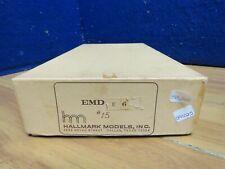 HALLMARK HO #15 EMD BRASS ENGINE BOX E-6 BOX 591025