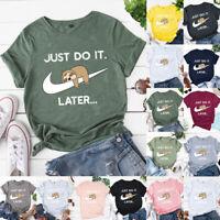 Womens Blouse Sweatshirt Holiday Ladies Loose Casual Shirt Basic Tee Bear Tops