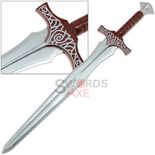 Elder Steel Sword Skyrim Wooden Replica Ancient Scrolls Cosplay Medieval Warrior