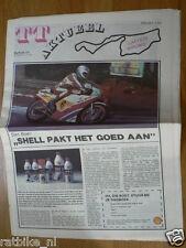 1982 SPECIAL NEWSPAPER TT AKTUEEL DUTCH TT ASSEN GRAND PRIX MOTO GP,VAN DULMEN
