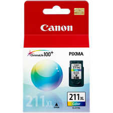 GENUINE CANON CARTRIDGE CL-211 XL COLOR INK