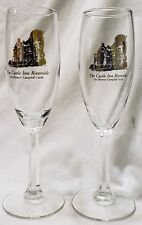 The Castle Inn Riverside Glass Champagne Flute (Set of 2)