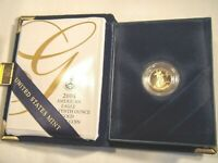 2004 W 1/10 ounce American Gold Eagle Proof Coin With presentation box COA tenth