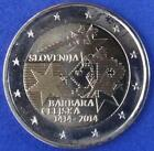 SLOVÉNIE - 2 EUROS COMMEMORATIVE 2007 - 2017 Toutes les Années Disponibles