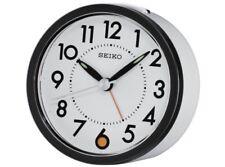 New Seiko White Dial Alarm Clock Watch QHE096WLH