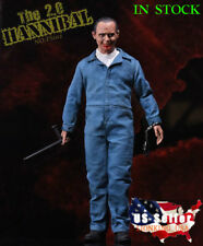 1/6 The Silence of the Lambs Dr Hannibal Anthony Hopkins Figure Set 2.0 ❶USA❶