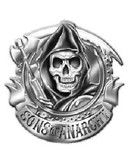 Sons of Anarchy  3-D Reaper Logo Metal Belt Buckle NEW UNUSED