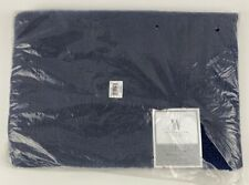 "Wamsutta Ultra Fine Luxury Reversible 17"" x 24"" Bath Rug in Denim Navy Blue"