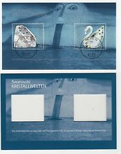 Austria 2004 Swarovski Crystal Sheet with First Day Cancel