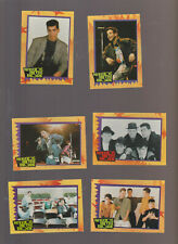 Lot of 6 New Kids on the Block trading cards NKOTB