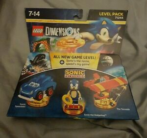 New Sealed ~ Lego Dimensions ~ Level Pack ~ 71244 ~ Sonic the Hedgehog
