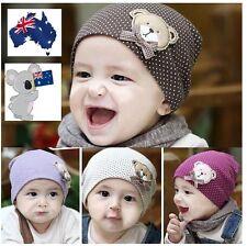 All Season Winter Warm Cotton Cute  Baby Beanie Teddy Bear Boys & Girls Hat