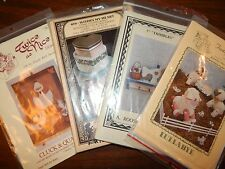 Craft Pattern Roosevelt Bear Thimbles Plush sheep Heart boxes Ducks UC Lot of 4