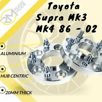 Toyota Supra MK3 MK4 86 - 02 5x114.3 60.1 20mm Hubcentric wheel spacers UK MADE