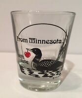 Shot Glass Minnesota
