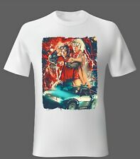 Mens t-shirt 2XL Back to the Future 80s Movie Marty McFly Unisex Woman Comedy UK
