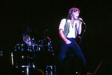 1980's Original Photo Slide Andy Gibb Bee Gees Tragic Teen Idol on Stage