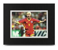 Viorel Moldovan Signed 10x8 Photo Display Romania Autograph Memorabilia COA