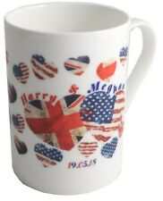 Royal Wedding Printed Fine Bone China Mug (Harry & Megan)