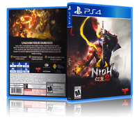 Nioh 2 - Replacement PS4 Cover and Case. NO GAME!!