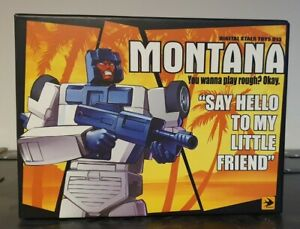DX9  Montana Transformers Masterpiece Breakdown, Stunticons, Menasor