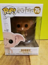 💕💖 Harry Potter Funko Pop Dobby Snapping Fingers No.75 + Pop Protector 💖💕