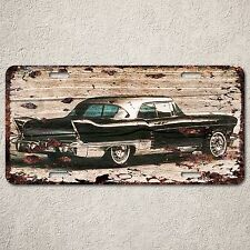 LP0138 Vintage Old Classic Car Sign Auto Car License Plate Rust Home Decor