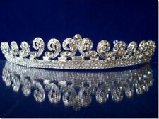 Kate Bridal Wedding Crown Veil Pageant Homecoming Prom Crystal Tiara 1204