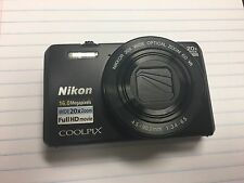 Nikon COOLPIX S7000 16.0MP Digital Compact Camera - Black WiFi