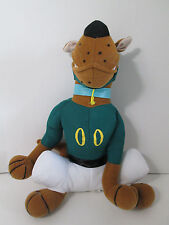 "Scobby Doo Football Player Plush 14"" Stuffed Animal Cartoon Network"