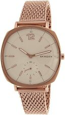 Skagen Womens Rungsted SKW2401 Rose Gold Stainless-Steel Quartz Watch
