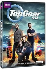 TOP GEAR USA Season 4 (2013): Tanner Foust US TV Season Series - NEW DVD Set R1