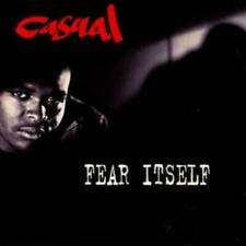 Casual: Fear Itself MUSIC AUDIO CD 90s hip hop r&b rap rapper! 1993 Jive Records