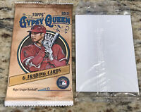 (1) Pack of 2019 Topps GYPSY QUEEN Baseball MLB PLUS 3 Sealed Parallel Cards
