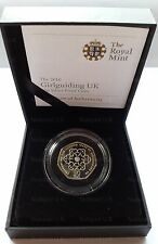 2010 Silver Proof Coin Girl Guiding UK Fifty Pence Commemorative 50p