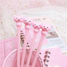 Cartoon Cute Pink Pig Gel Pen Lovely Stationery Signature Pen Children Present