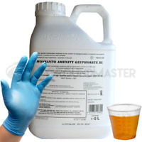 1 x 5L Monsanto Amenity XL Very Strong Glyphosate Weedkiller + Free Cup & Glove