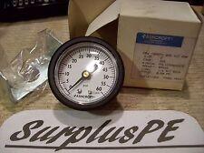 "Ashcroft Pressure Gauge 20W 1005PH 02B XUC 60#, (60 PSI guage) (2"" SIZE)"