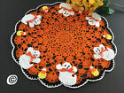 Brand+New+Hand+Crocheted+Halloween+Ghosts+and+CandyCorn+Doily