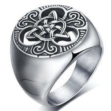 Anillos redondos para hombre redondos del sello del anillo del acero inoxidable