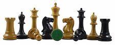 Emil Kemény 1892-93 Reproduction 3.75 Staunton Chessmen Antique/Ebonised