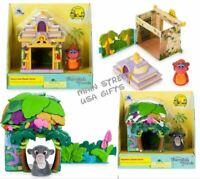 The Jungle Book King Louie & Bagheera Stackable Playset Disney Furrytale Friends