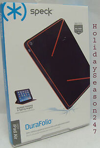 SPECK DuraFolio Military Grade Protective Case W Adjustable Stand For iPad Air