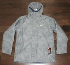 $199 New UNDER ARMOUR Jacket Storm Proof Infrared COLD GEAR Men's Large L Gray