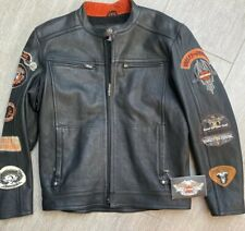 Harley Davidson Men's Leather Jacket size Large, New with tags
